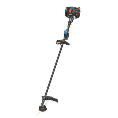 """Lawnmaster 26cc Gas NO-PULL™ 2-Cycle 17"""" Battery Operated Cordless Weed Wacker Trimmer"""