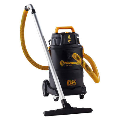 Vacmaster VK811PH, 8 Gallon HEPA Wet And Dry Vacuum Vac Cleaner For Home