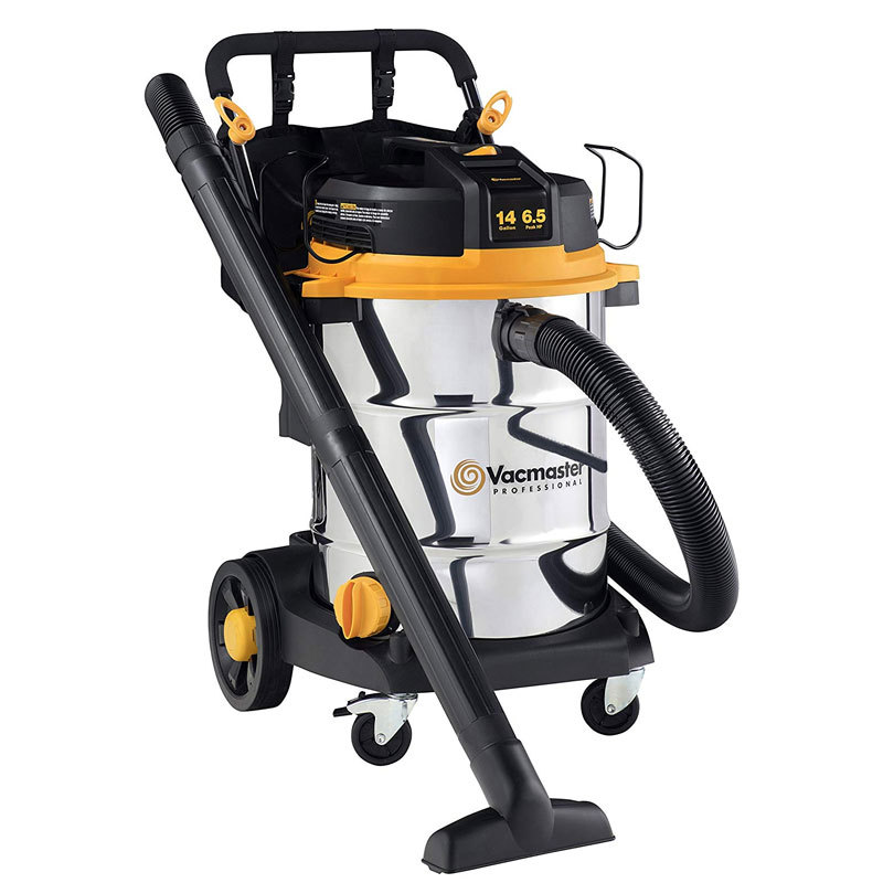 Vacmaster VJE1412SW 0201 14 Gal. 6.5 HP Best Wet Dry Shop Vac with Cart
