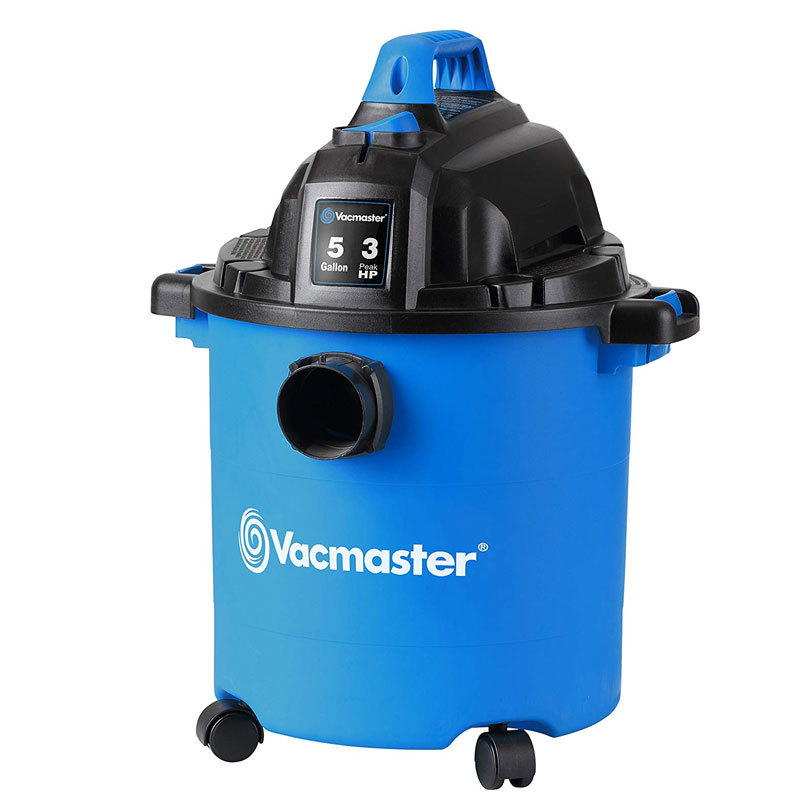 Vacmaster, VJC507P, 5 Gallon 3 Peak HP Wet/Dry Shop Vacuum