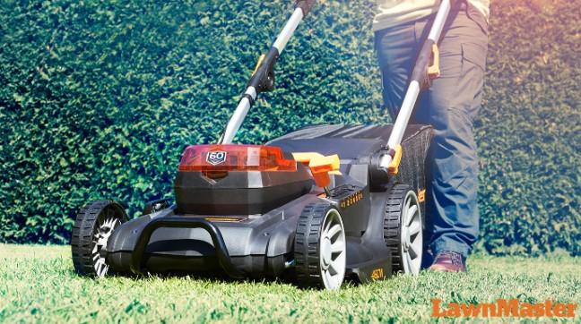 lawn cutting machine