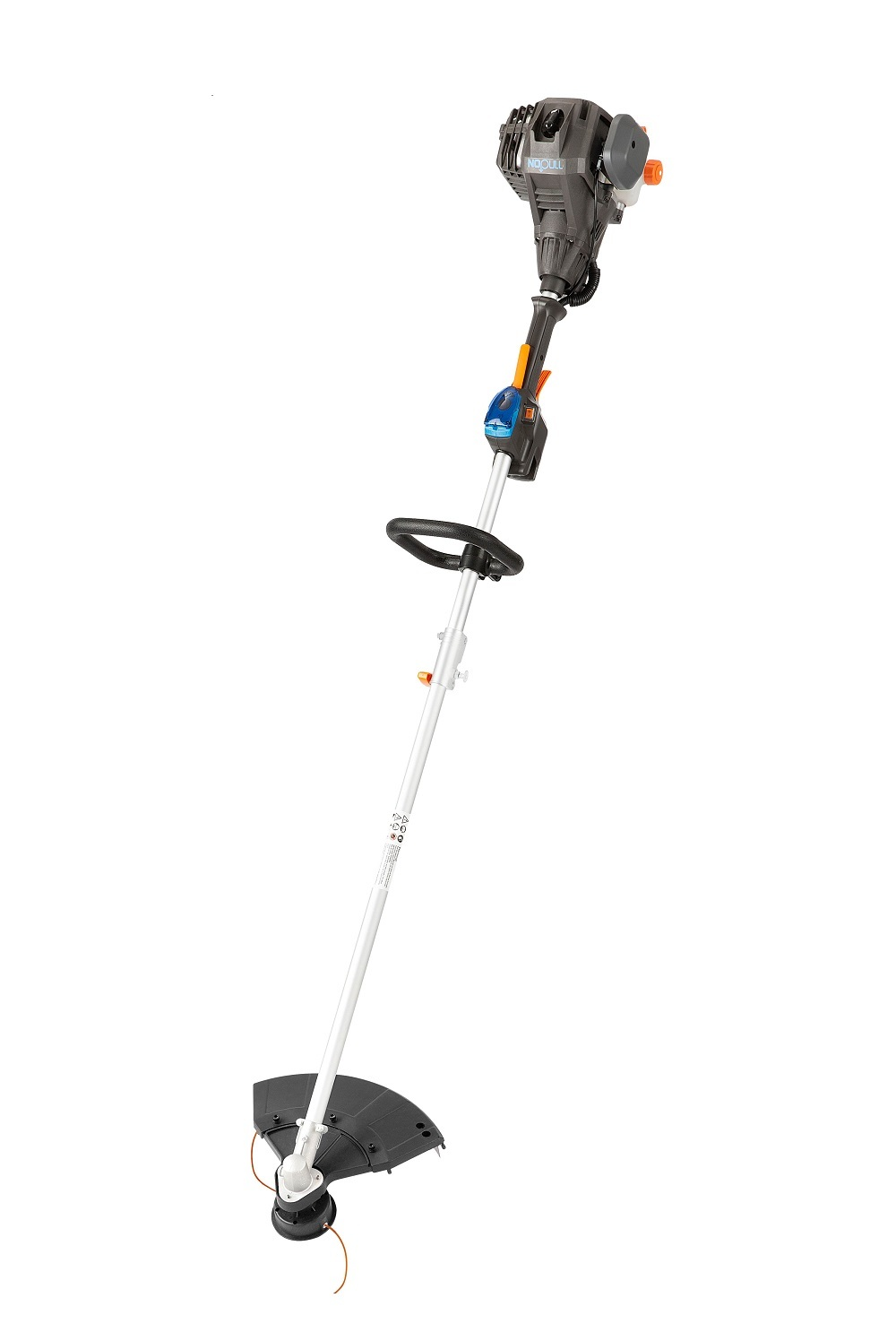 """Lawnmaster 25cc Gas NO-PULL Electric Push Button Start 2-Cycle 17"""" Straight Shaft String Trimmer"""