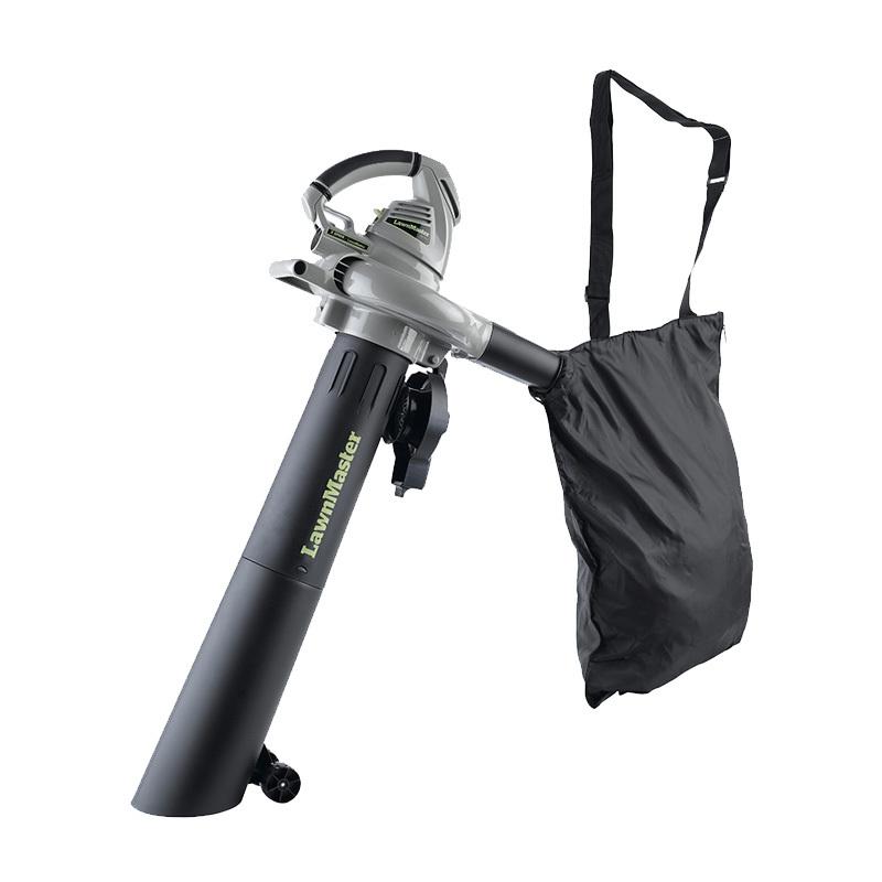 Lawnmaster 12 Amp Motor,2-Speed Handheld Leaf Blower Vacuum