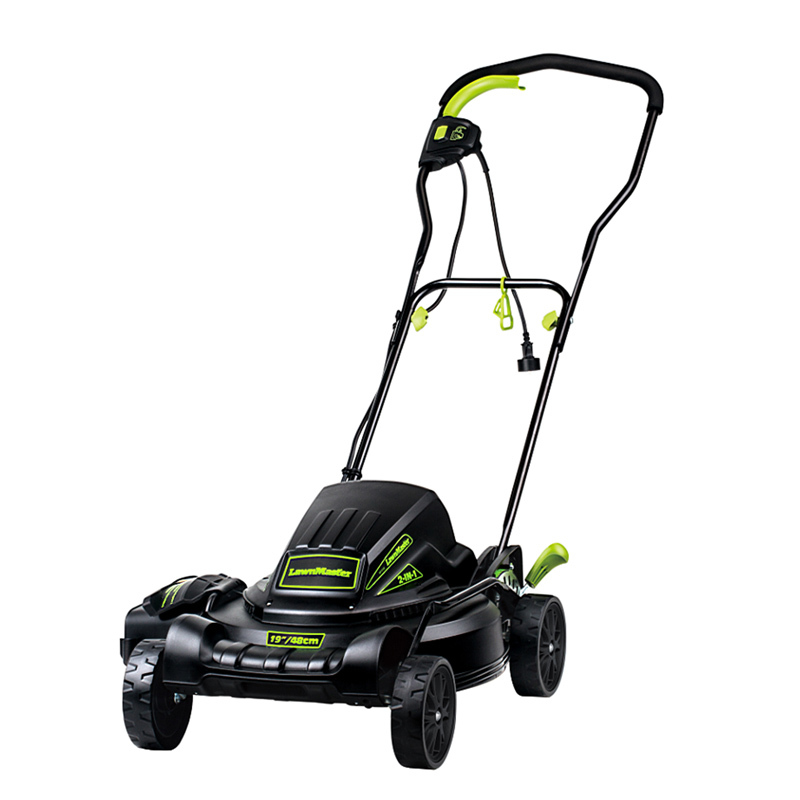 "Lawnmaster 12.5 Amp Motor,19"" ME1018X Rechargeable Best Cordless Lawn Mower"