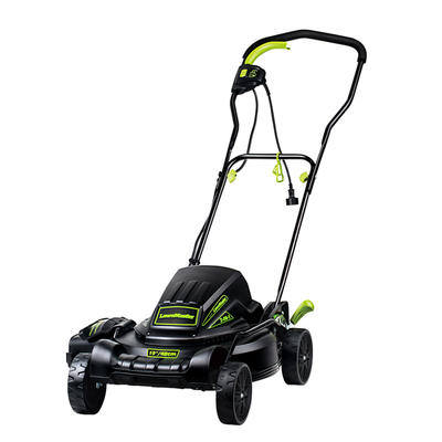 """Lawnmaster 12.5 Amp Motor,19"""" ME1018X Rechargeable Best Cordless Lawn Mower"""