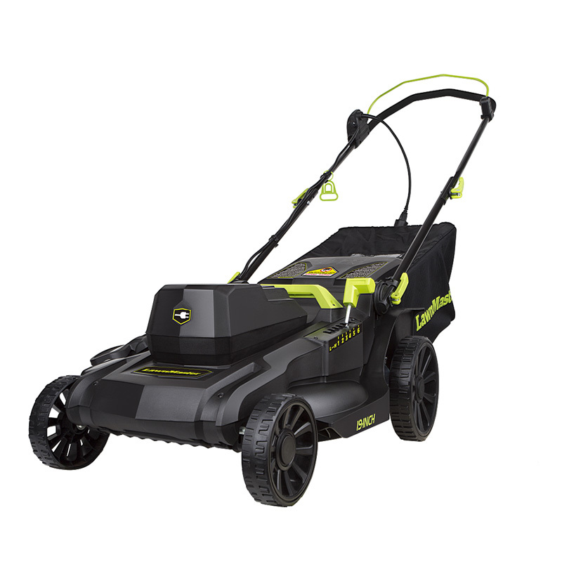 "Lawnmaster 12.5 Amp Motor,19"" Electric Lawn Mower MEC1218E"