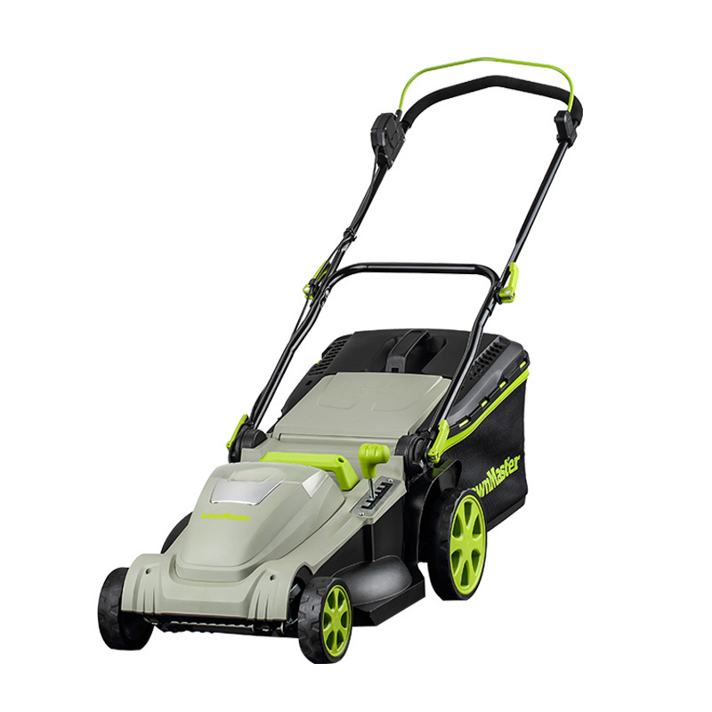 Lawnmaster 40v Max Li-On 42cm Cordless Rotary Lawn Mower with 2 batteries