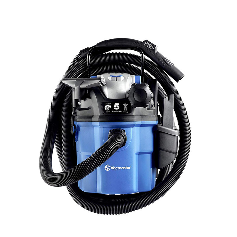 VWM510, Wall Mountable Wet And Dry Vacuum Vac For Carpet, 5 Gallon VEM510