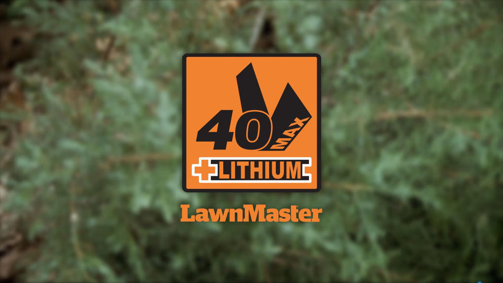 LawnMaster's 40V Max Lithium Ion 22 Inch Cordless Hedge Trimmer