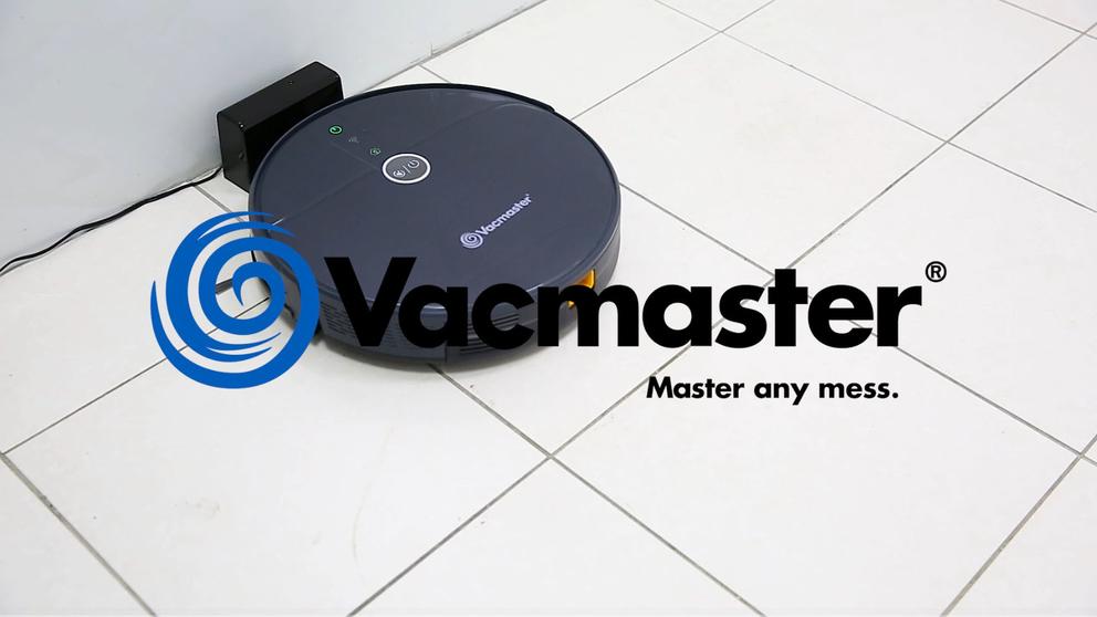Vacmaster V16EU Robotic Vacuum Cleaner, with 1800Pa Ultra Strong Suction, Smart Navigation, 360°Sensor Protection, Self-Charging