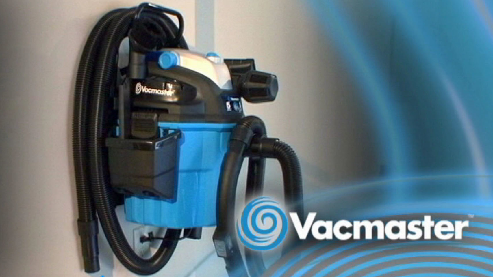 Vacmaster VWM510 Wall Mount Wet/Dry Vacuum with Remote Control, 5 Gallon, 5 Peak HP Video