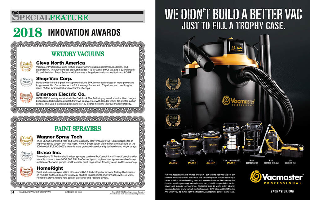 HIE Oct 2018 Innovation Awards Feature