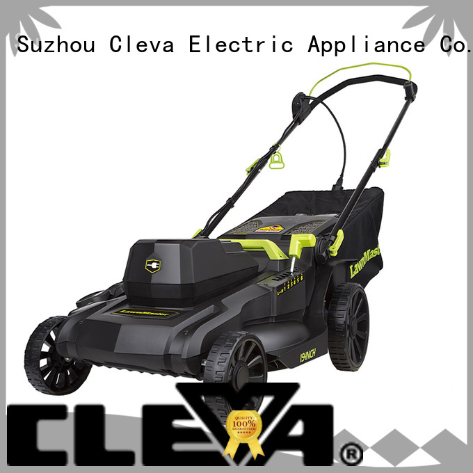 CLEVA cordless best electric lawn mower supplier for floor
