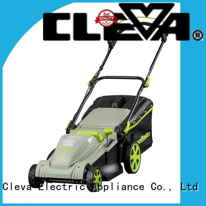 CLEVA lawnmaster rechargeable lawn mower manufacturer for floor