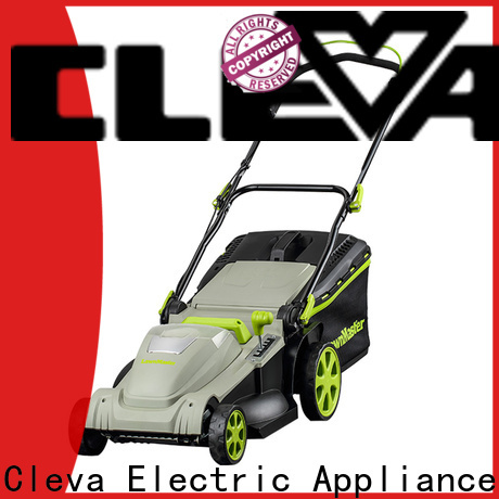 CLEVA rechargeable lawn mower factory direct supply for floor
