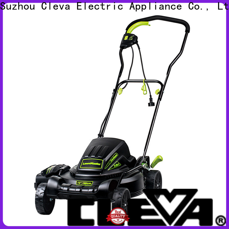 CLEVA cordless best rated lawn mower supplier for home